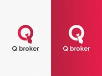 Q broker / logo idea