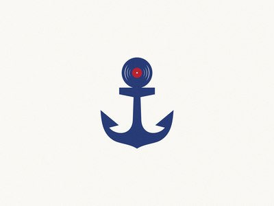 Boat Party anchor brand symbol icon logo boat party