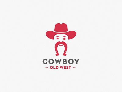 cowboy letter identity sign yuro illustration design brand symbol icon logo