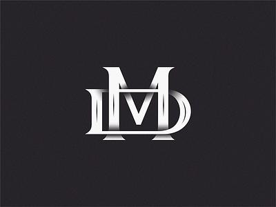 MD sign yuro illustration design brand symbol icon logo
