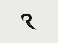Raven letter R