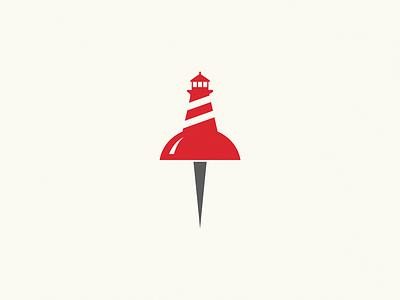 lighthouse pin pin lighthouse logo