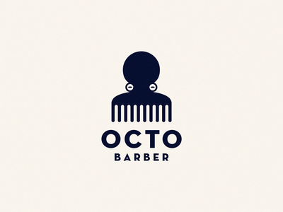 Octo barber / octo + comb comb barber shop barber octo