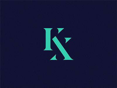 KX branding letter identity yuro illustration design brand symbol icon logo