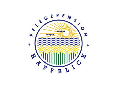 Haffblick Logo branding design logo