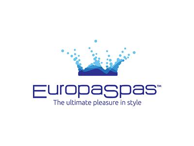 EuropaSpas Logo design logo