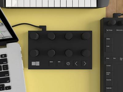 Ableton Concept: Rack Controller  music live controller ableton