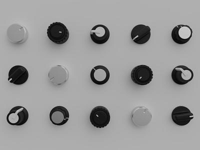 Knobs app audio music 3d knobs