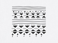 Pattern for clothing brand