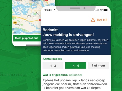 StopApp geolocation data rotterdam android iphone app