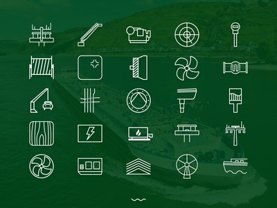 Icons for a business tool