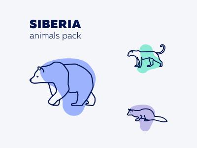 Siberia icon pack