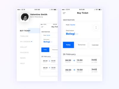 SSP app concept