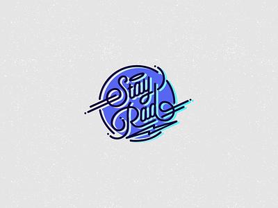Stay Rad stay rad lines stay rad typo exa exarock typography
