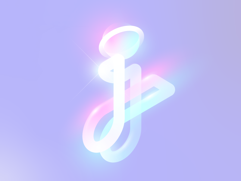 j - 36 days of type 2019 36dayoftype colors typography letters j