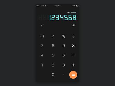 Daily UI #004 - Calculator old ux math tool calculator 004 dailyui simple ui app