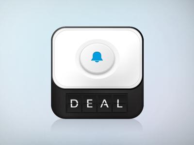 Deal Alarm iOS icon