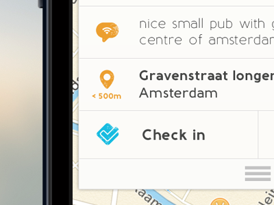"""unnamed"" iOS App - Details (Rebound) app iphone icons menu header vintage lokoj navigation comments check in"