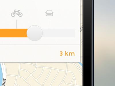 """unnamed"" iOS App - Settings app settings distance map lokoj km car bike"
