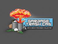Garbage Trash Can Logotype