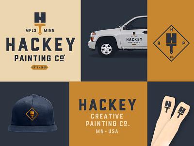 HPC Logo painter paintbrush painting brand identity brand logo