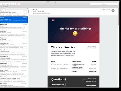 Daily UI - Invoice