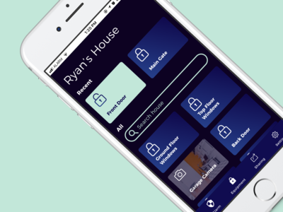 Daily UI - Home Security