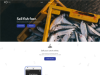 Fish Marketplace Landing Page