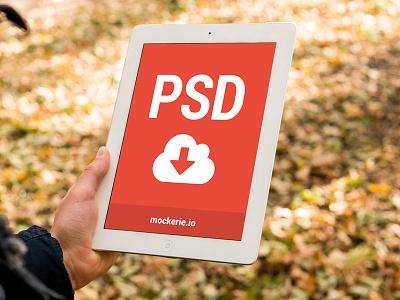 Free iPad Template [PSD] mockup template mock-up ios mockup freebie free photoshop psd design device apple app