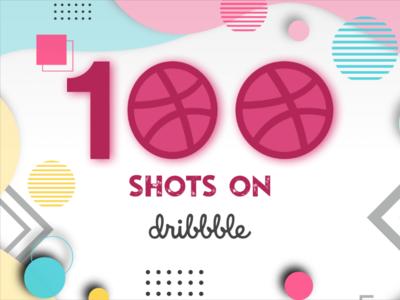 100 Shots on Dibbble