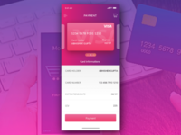 Mobile payment using credit card