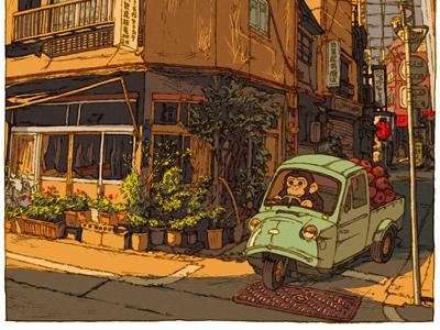 100 views of Tokyo/Ashina syoten(Shimbashi)