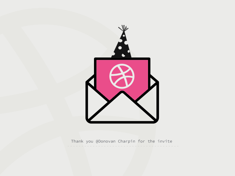 First Shot thanks player invite hello first shot dribbble debut