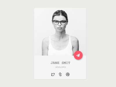 Profile Widget