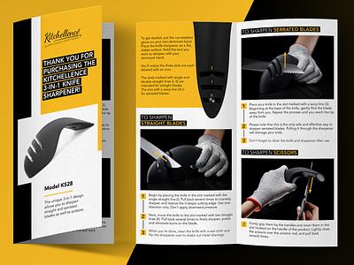 Half Fold Leaflet product brochure branding layout design leaflet design