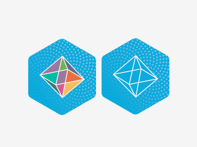 Logo options wip logo platonic solid