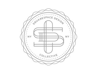 Squarespace Design Collective fun stamp design squarespace ny
