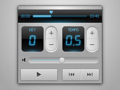 UI for Karaoke App iphone karaoke