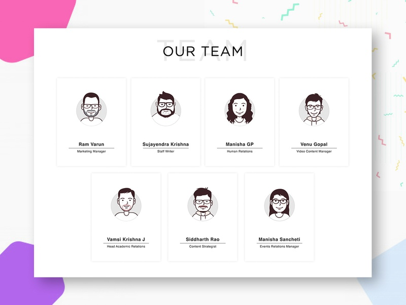 Team Icons caricature cartoon portrait sketch icons
