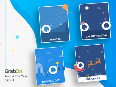 GrabOn Celebrations Throughout The Year 2018 cards greetings icons wishes celebrations 2018 year