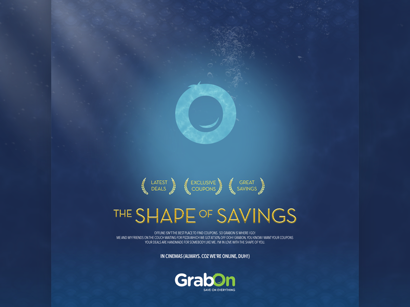 The Oscars 2018 - Award For The Shape of Water film feature best shopping offers deals branding graphic award coupons savings movie cinema poster shape of water oscars