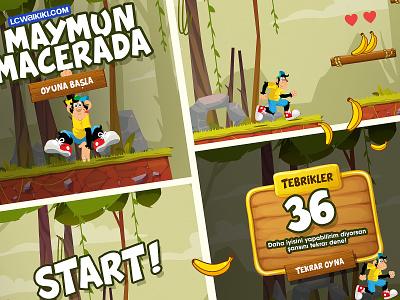 LC waikiki Land / Monkey Game oyuntasarimi lcwaikiki rungame artwork gameart gamestory monkeygame appgame mobilegame game