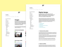 Digital brand guidelines