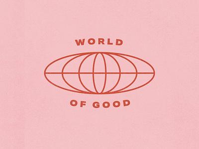 World of Good typography design