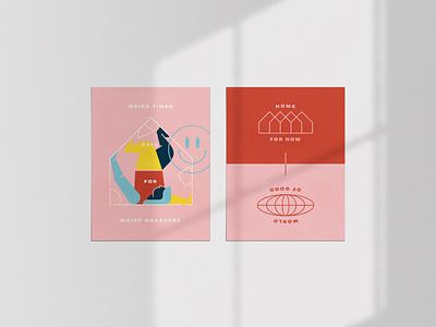 Apart Poster Series vector design