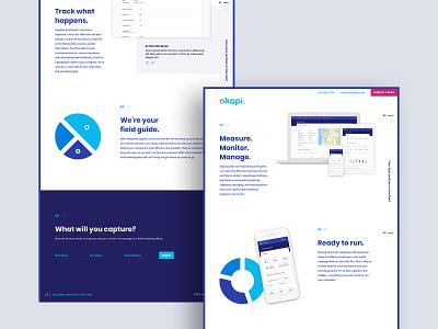 Okapi Website Design ui interaction design website web design