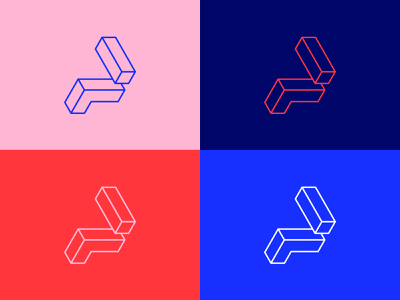 Pivot Mark type logo branding vector design