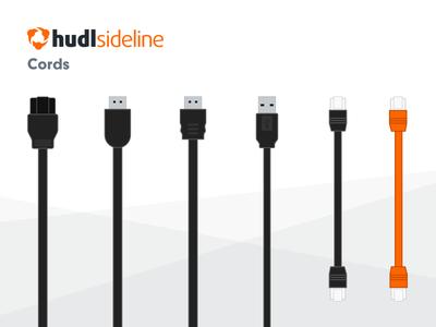 Hudl Sideline Cords