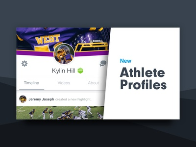 Hudl Athlete Profiles