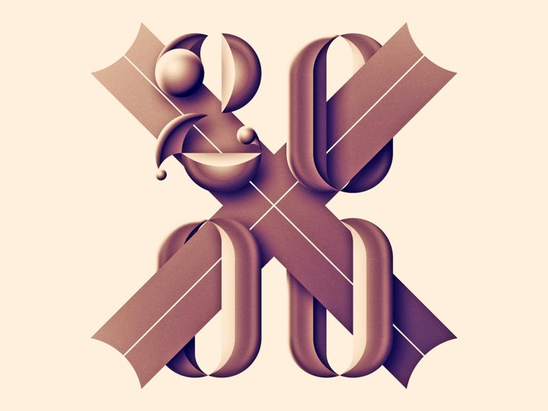 2000X design illustration typography bua portugal bruno silva 2000